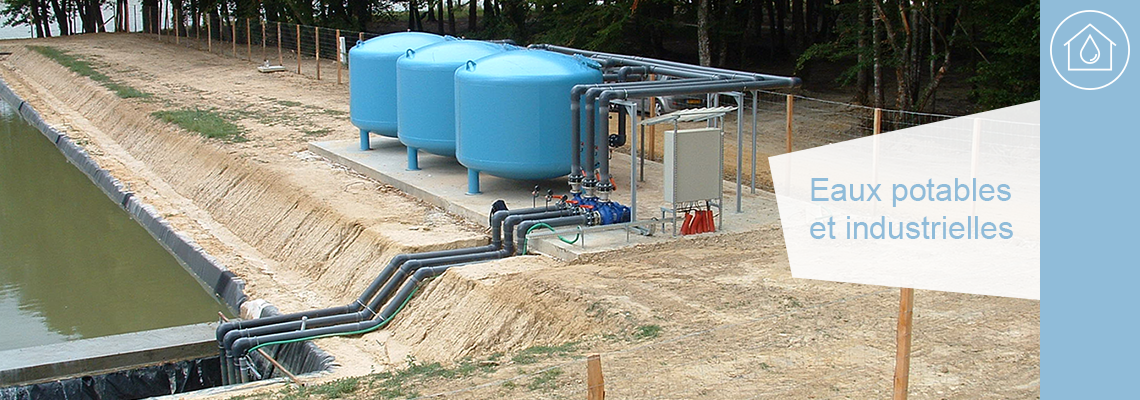 La société Euroechnologie est spécialisée dans la mise en place de systèmes de traitement des eaux industrielles et de traitement d'eau potable.