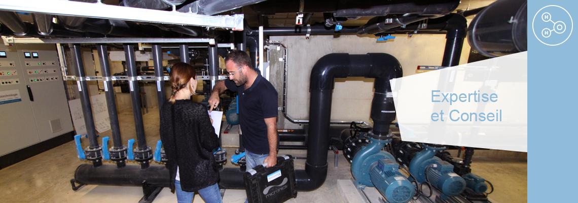 Eurotechnologie apporte l'expertise de son bureau d'étude dans les projets de piscine et de traitement des eaux